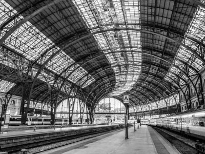 Fototapete Frankreich Station, Barcelona