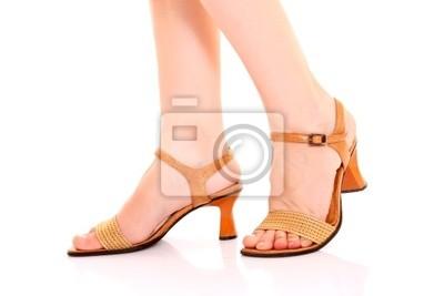 a8d9603c57d5d4 Fototapete Frau lange Beine in High Heels