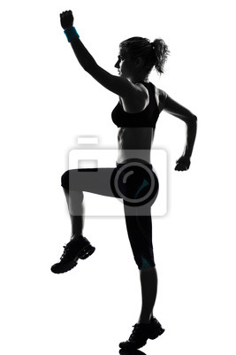 Frauen-Training Fitness-Haltung