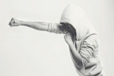 Fototapete Frauen Trainings Schläge