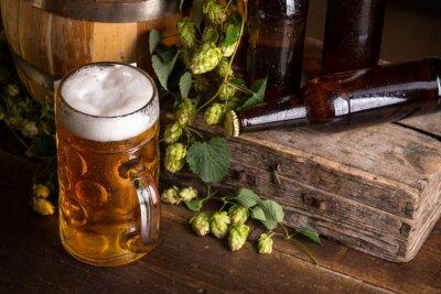 Fototapete Fresh beer