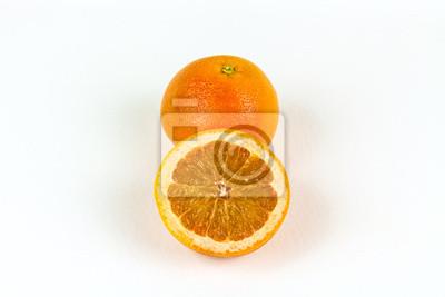 Fresh Sliced Grapefruit