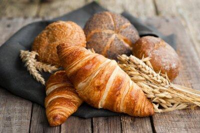 Fototapete Frische Croissants