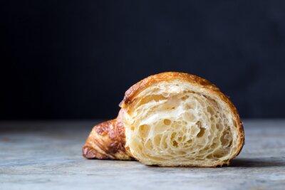 Fototapete Frische gebackene Croissants
