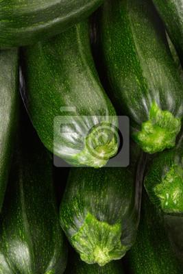 Frische Zucchini Hintergrund