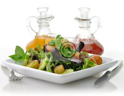frischem Salat