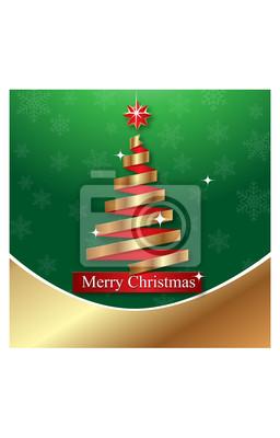 Frohe Weihnachten feiern Karte Vorlage