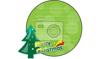 Frohe Weihnachten Frohes neues Jahr Karte
