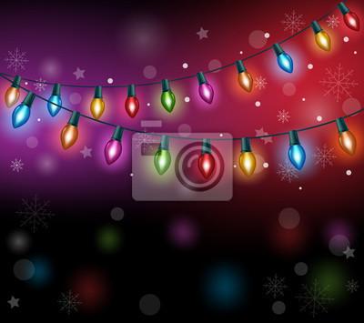 Frohe Weihnachten 3d.Fototapete Frohe Weihnachten Grüße Mit Realistischen 3d Bunte Weihnachten