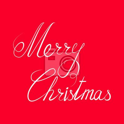 Frohe Weihnachten Mazedonisch.Fototapete Frohe Weihnachten Text Calligraphic Lettering Weihnachtsentwurfs Kartenschablone