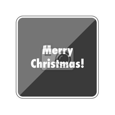 App Weihnachtsgrüße.Fototapete Frohe Weihnachten Weihnachtsgrüße Reflektierender App Button