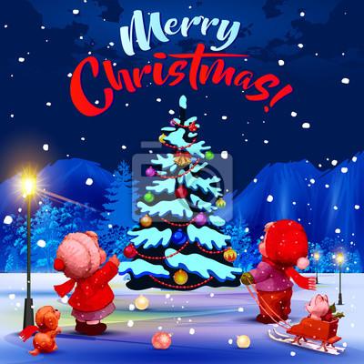 Fröhliche Weihnachten Herzlichen Glückwunsch Auf Englisch