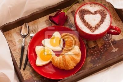Frühstück Am Bett frühstück im bett fototapete • fototapeten food-fotografie, 14