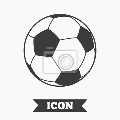 Fototapete Fussball Ball Zeichen Symbol Fussball Sport Symbol