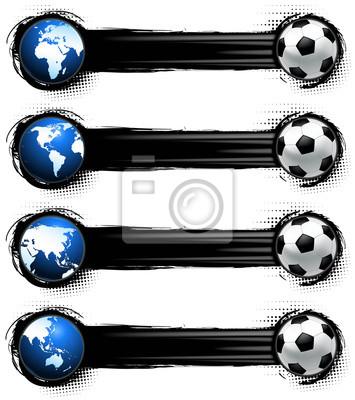 Fußball-Banner