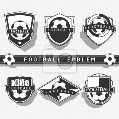 Fußball-Emblem