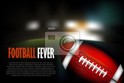 Fußball Erstellt von professionellen Artist.all Elemente sind in separaten Ebenen gehalten, und gruppiert.
