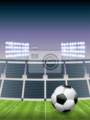 Fußball-Fußballstadion und -feld