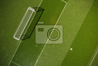 Fussball Grasfeld