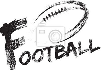 Fußball Grunge Streifen