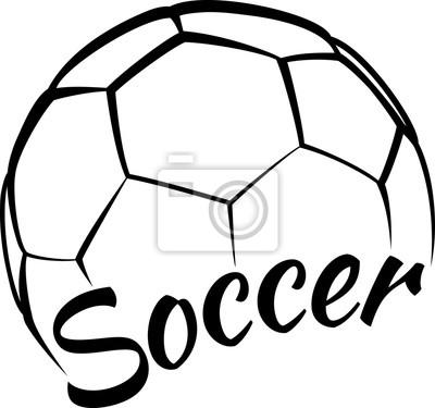 Fußball mit Spaßtext