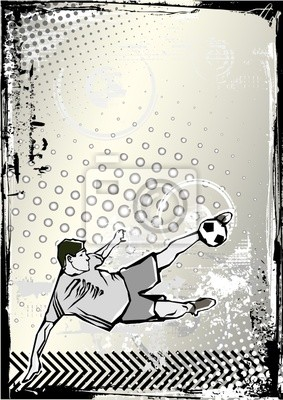 Fußball-Poster