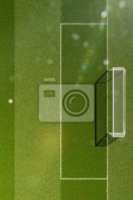 Fußball-Stadion in Tageslicht 3D-Darstellung