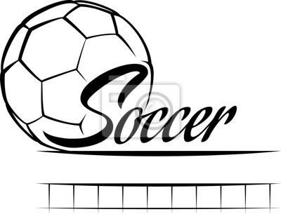 Fußball-Text-Banner-Finale