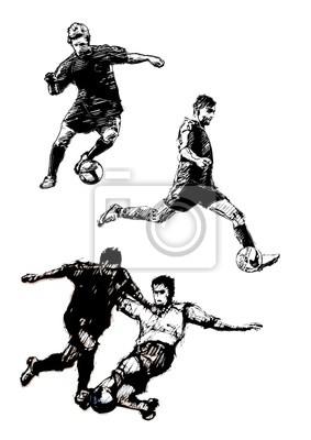 Fußball-Trio 2