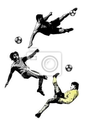 Fußball-Trio