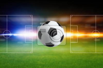 Fußball und Layout