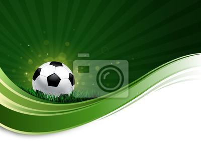 Fußball-Welle