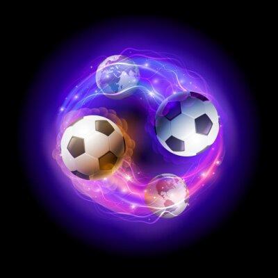 Fußball-Welt Kreis.