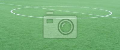 Fußballfeld Zentrum Kreis