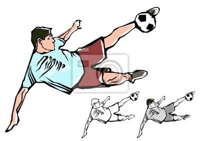Fußballspieler Illustration