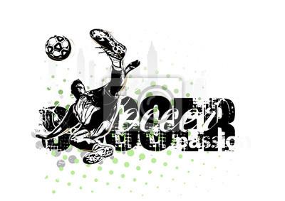 Fußballspieler im Vektor-Format