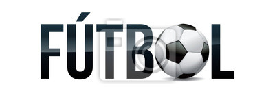 Futbol Football Soccer Concept Word Art Illustration
