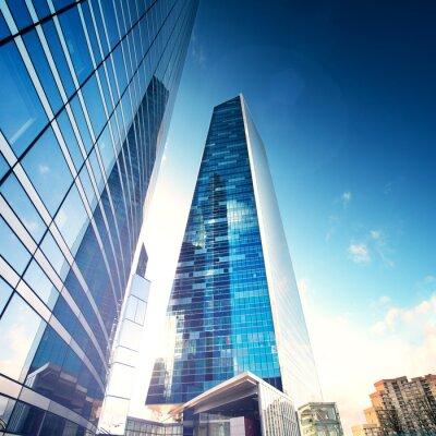 Fototapete Future City - Paris La Défense