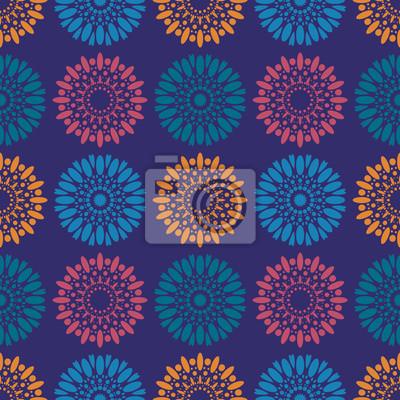 fototapete galaxy blumen nahtlose muster geeignet fr bildschirm druck und andere medien - Galaxy Muster