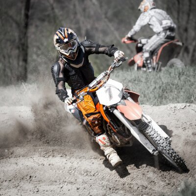 Fototapete gara di Motocross