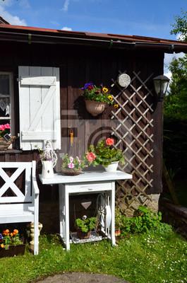 Garten Hütte Shabby Chic Fototapete Fototapeten Landleben Timeout