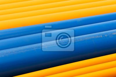 Gas Und Wasserrohre Aus Kunststoff Fototapete Fototapeten Lagern