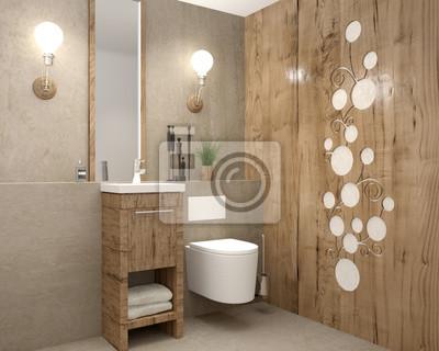 Gaste Wc Kleines Wc Toilette Fototapete Fototapeten