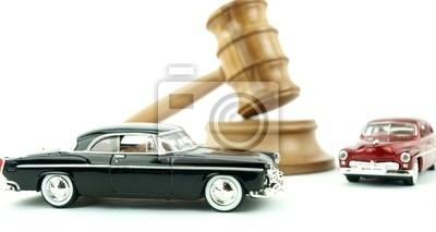 Gavel Auktion und Autos