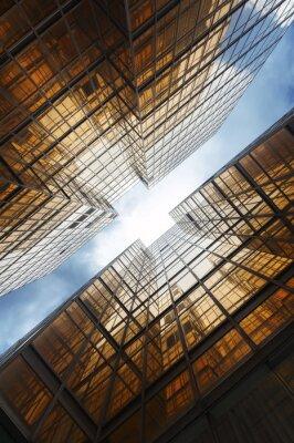Fototapete Gebäude abstrakt