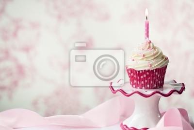 Geburtstag Cupcake Fototapete Fototapeten Gefrostet