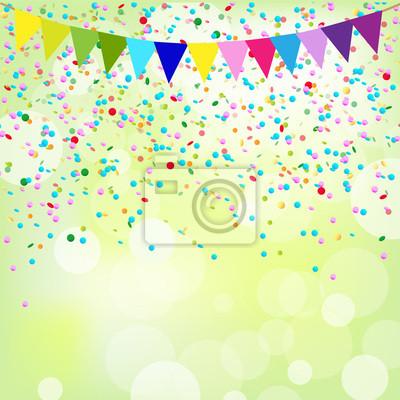 Geburtstag Poster