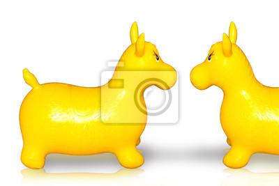 Gefüllte Pferd