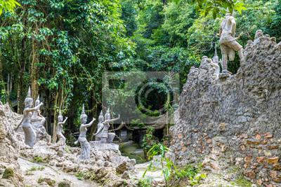 Geheimer Garten Koh Samui Fototapete Fototapeten Cymbidium