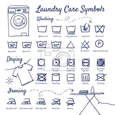 symbole auf waschmaschine